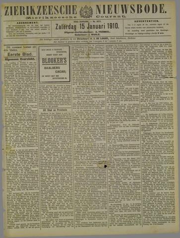 Zierikzeesche Nieuwsbode 1910-01-15