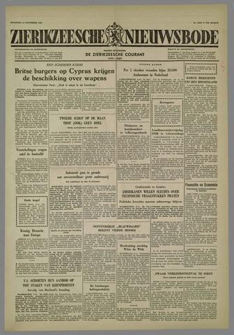 Zierikzeesche Nieuwsbode 1958-11-10