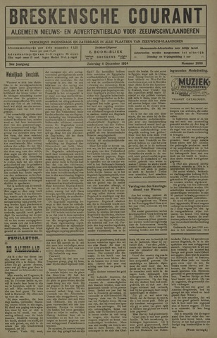 Breskensche Courant 1924-12-06