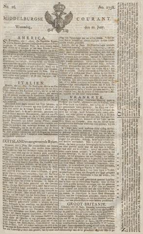Middelburgsche Courant 1758-06-21