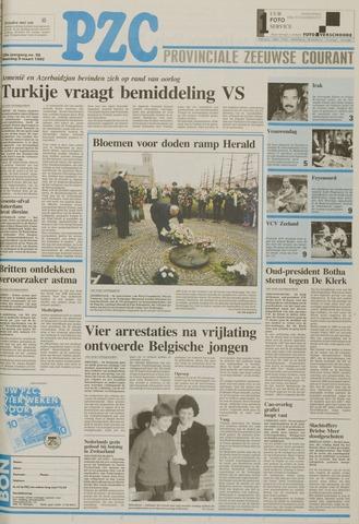 Provinciale Zeeuwse Courant 1992-03-09