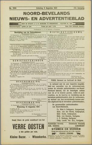 Noord-Bevelands Nieuws- en advertentieblad 1941-08-09