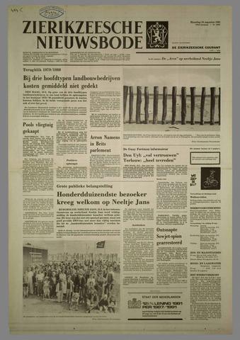 Zierikzeesche Nieuwsbode 1981-08-24