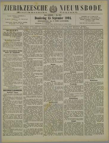 Zierikzeesche Nieuwsbode 1904-09-15