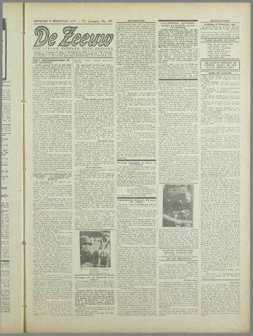 De Zeeuw. Christelijk-historisch nieuwsblad voor Zeeland 1943-02-09