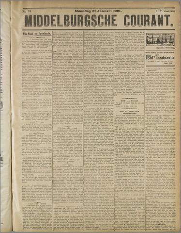 Middelburgsche Courant 1921-01-31