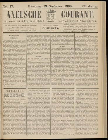 Axelsche Courant 1906-09-19