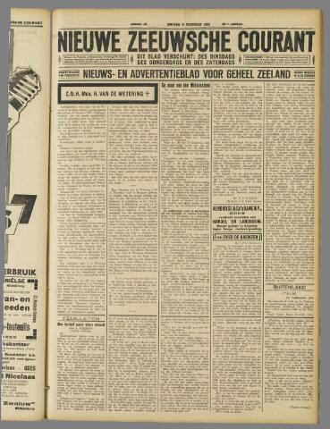 Nieuwe Zeeuwsche Courant 1929-11-19