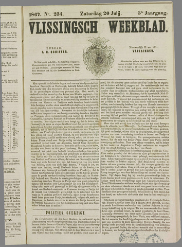 Vlissings Weekblad 1867-07-20