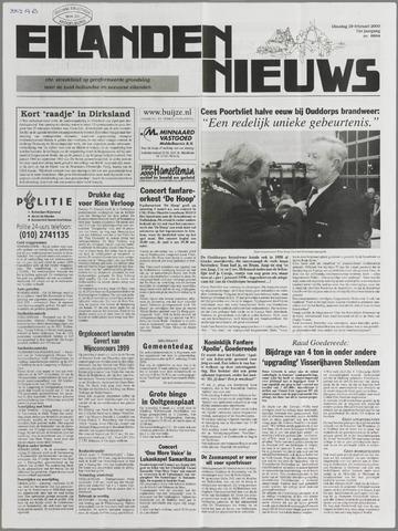 Eilanden-nieuws. Christelijk streekblad op gereformeerde grondslag 2000-02-29