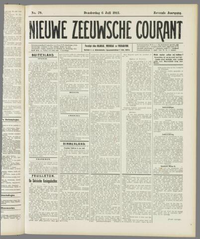 Nieuwe Zeeuwsche Courant 1911-07-06