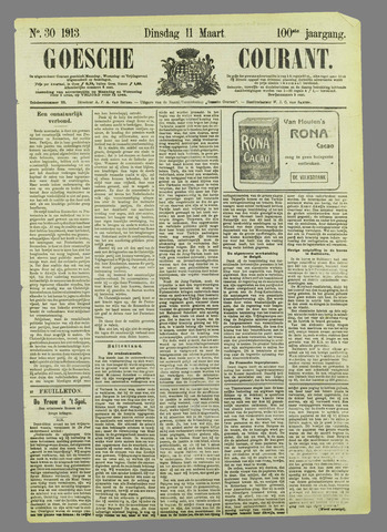 Goessche Courant 1913-03-11