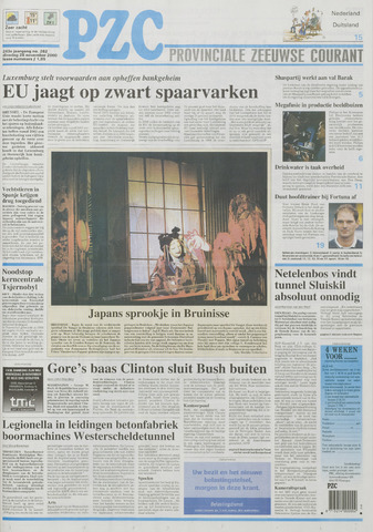Provinciale Zeeuwse Courant 2000-11-28