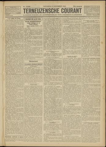 Ter Neuzensche Courant. Algemeen Nieuws- en Advertentieblad voor Zeeuwsch-Vlaanderen / Neuzensche Courant ... (idem) / (Algemeen) nieuws en advertentieblad voor Zeeuwsch-Vlaanderen 1942-11-18