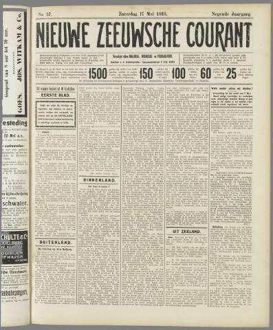 Nieuwe Zeeuwsche Courant 1913-05-17