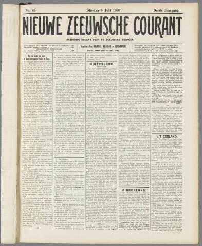 Nieuwe Zeeuwsche Courant 1907-07-09