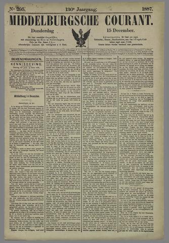 Middelburgsche Courant 1887-12-15