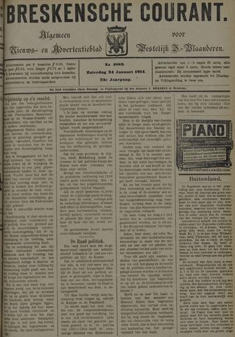 Breskensche Courant 1914-01-24