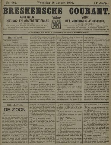 Breskensche Courant 1905-01-18