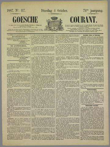 Goessche Courant 1887-10-04
