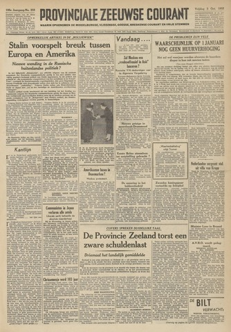 Provinciale Zeeuwse Courant 1952-10-03