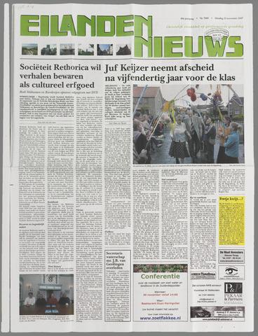Eilanden-nieuws. Christelijk streekblad op gereformeerde grondslag 2007-11-13