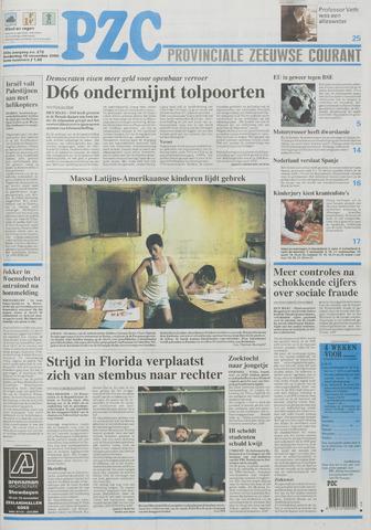 Provinciale Zeeuwse Courant 2000-11-16