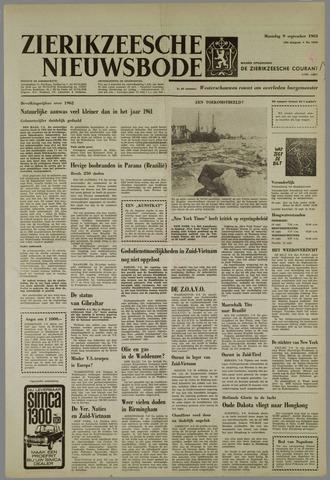 Zierikzeesche Nieuwsbode 1963-09-09