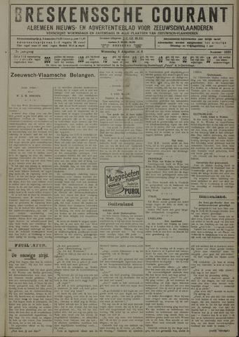 Breskensche Courant 1928-08-08