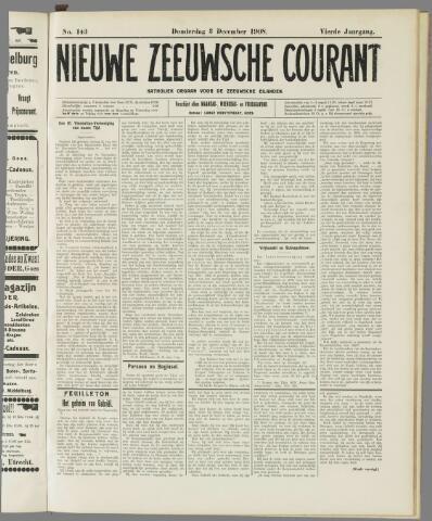 Nieuwe Zeeuwsche Courant 1908-12-03