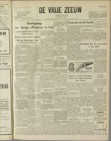 de Vrije Zeeuw 1958-07-15