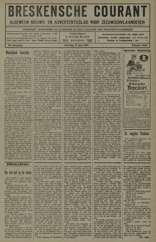 Breskensche Courant 1925-06-27