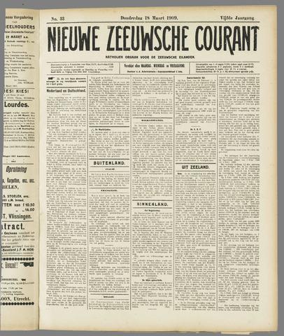 Nieuwe Zeeuwsche Courant 1909-03-18