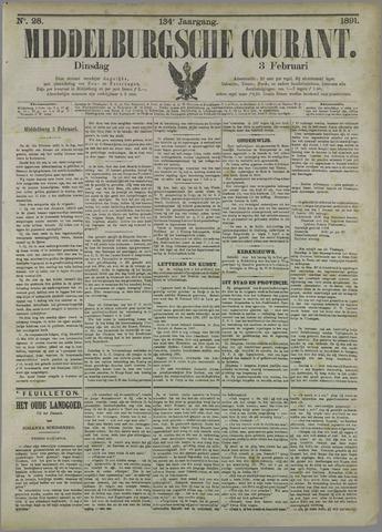 Middelburgsche Courant 1891-02-03