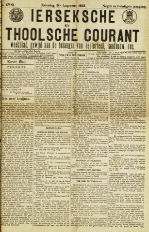 Ierseksche en Thoolsche Courant 1913-08-30