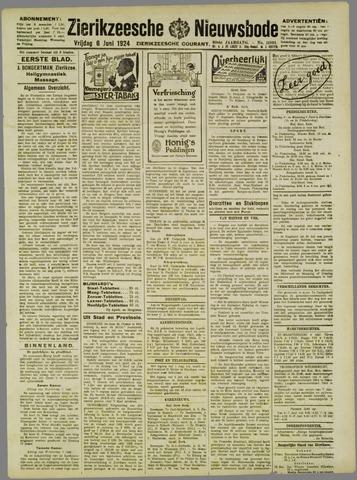 Zierikzeesche Nieuwsbode 1924-06-06