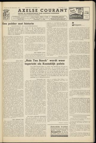 Axelsche Courant 1954-10-27