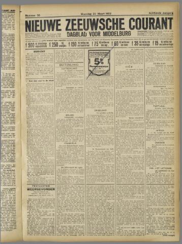 Nieuwe Zeeuwsche Courant 1922-03-20