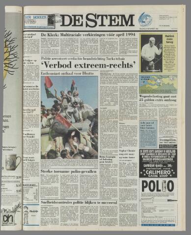 de Stem 1992-11-27