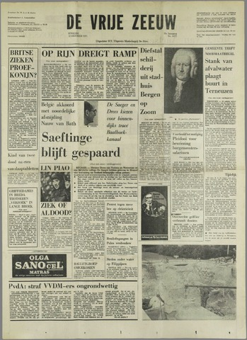 de Vrije Zeeuw 1971-10-12