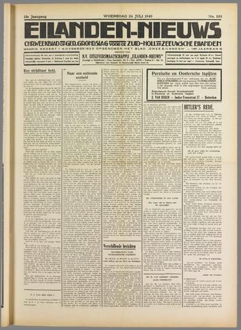 Eilanden-nieuws. Christelijk streekblad op gereformeerde grondslag 1940-07-24