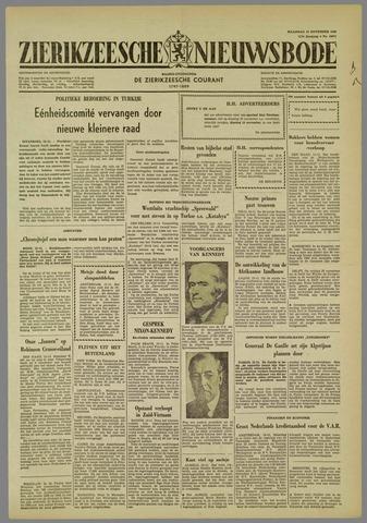 Zierikzeesche Nieuwsbode 1960-11-14