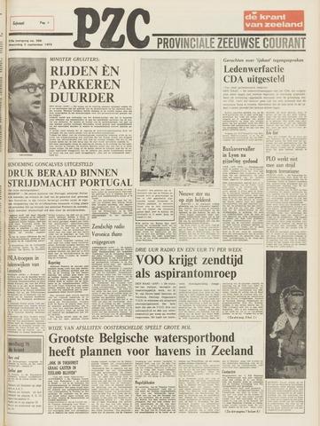 Provinciale Zeeuwse Courant 1975-09-03