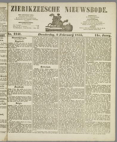 Zierikzeesche Nieuwsbode 1855-02-08
