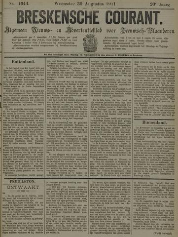 Breskensche Courant 1911-08-30