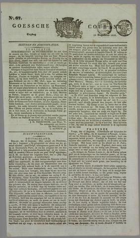 Goessche Courant 1833-08-23