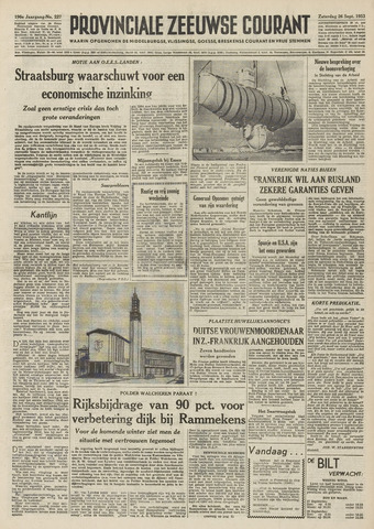 Provinciale Zeeuwse Courant 1953-09-26