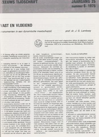 Zeeuws Tijdschrift 1975-11-01