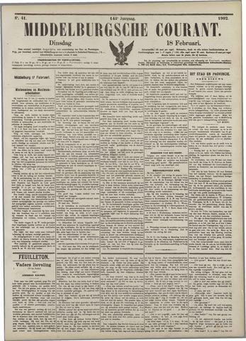 Middelburgsche Courant 1902-02-18