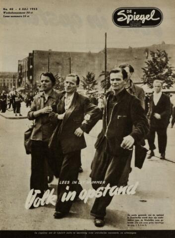 Watersnood documentatie 1953 - tijdschriften 1953-07-04